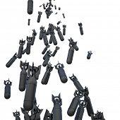 stock photo of bomb  - 3d image of tax bomb - JPG