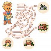 pic of maze  - Maze game for children  - JPG