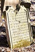 picture of cemetery  - Jewish cemetery - JPG