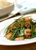 Prawn And Mangetout Fried Noodles