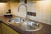Modern Double Sink