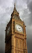 A telephoto of Big Ben, London