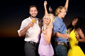 stock photo of party people  - People  - JPG