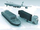 tipos de transporte de transporte son cargas.