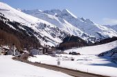 Small village and ski resort in Tirol