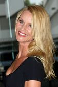 LOS ANGELES - JUL 27:  Nicollette Sheridan arriving at the 2011 TCA Summer Press Tour - Hallmark Channel at Beverly Hilton Hotel on July 27, 2011 in Beverly Hills, CA