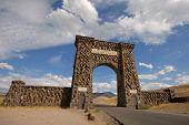 Nordeingang zu den Yellowstone Np