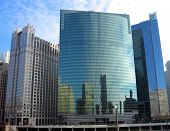 333 Wacker Drive Skyscrapers Chicago