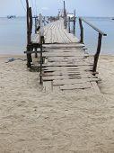 Ferry Pier Koh Tao Thailand