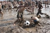 Kostrzyn, Poland - July 27: Przystane Woodstock Festival.