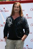 LOS ANGELES - JUL 28:  Fabio at a public appearance to promote the Epic Old Spice Challenge  at The Grove on July 28, 2011 in Los Angeles, CA