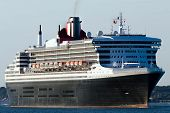 Cruise Ship Sets Sail