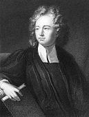Постер, плакат: Ричард Бентли 1662 1742 Выгравированы J Pofselwhite и Опубликовано в Галерея портретов Вит