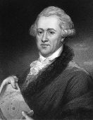 Frederick William Herschel (1738-1822). Engraved by E.Scriven and published in The Gallery Of Portra