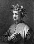 stock photo of alighieri  - Dante Alighieri  - JPG