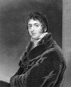 William Lamb (1779-1848). Engraved by S.Freeman and published in The National Portrait Gallery Of Il