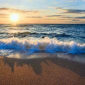 Sea Sunset Surf Wave