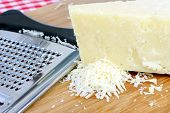 Parmigiana Cheese And Grater