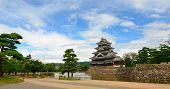 Matsumoto-Schloss in Matsumoto, japan