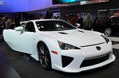 Carro-conceito Lexus LFA