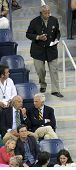 FLUSHING, NY - SEPTEMBER 10: Former NYC Mayor David Dinkins during the US Open at the USTA National Tennis Center on September 10, 2006 in Flushing, NY.