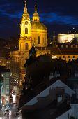 Catedral de San Nicolás en Mala Strana, Praga