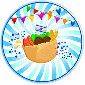 falafel no pita