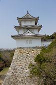 Tatsumi Yagura Tower In Akashi Castle, Japan.
