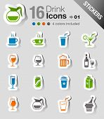 Stickers - Drink Icons