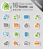 Stickers - Real estate icons