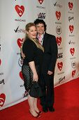 LOS ANGELES, CA - FEB 9: Carnie Wilson and husband Rob at the 2007 MusiCares Person Of The Year at t
