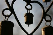 picture of windchime  - close - JPG