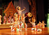Pattaya, Thailand - September 7: The Famous Thai Culture And Traditional Dances Show In Nong Nooch T