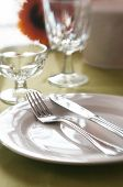 foto of banquette  - An elegant banquette table with selective focus - JPG