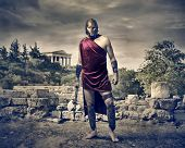 pic of sparta  - warrior with axe - JPG