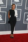 LOS ANGELES - FEB 10:  Beyonce Knowles arrives at the 55th Annual Grammy Awards at the Staples Cente