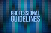 Professional Guidelines Concept Binary