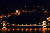 Постер, плакат: Падение ночь над Европой Будапешт Венгрия