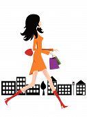 Shoping Woman