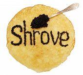 Black Caviar On A Pancake