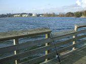 Fishing In Lake Ponchartrain