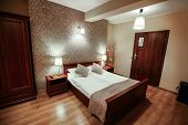 Interior Of Luxury Modern Hotel Room