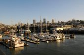 image of u-boat  - View of San Francisco from the pier 39 San Francisco California U - JPG