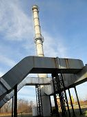 Industrial Chimney Of Thermal Insulation
