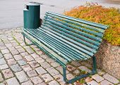 Empty City Bench