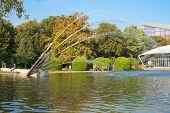 Gruga park pond