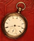 Antique Key Wound Railroad Watch