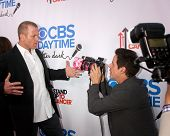 LOS ANGELES - OCT 8:  Sean Carrigan, Christian LeBlanc at the CBS Daytime After Dark Event at Comedy
