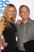 LOS ANGELES - OCT 8:  Sharon Case, father Jim Case at the CBS Daytime After Dark Event at Comedy Sto