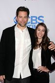 LOS ANGELES - OCT 8:  Michael Muhney, Jaime Garrison at the CBS Daytime After Dark Event at Comedy S